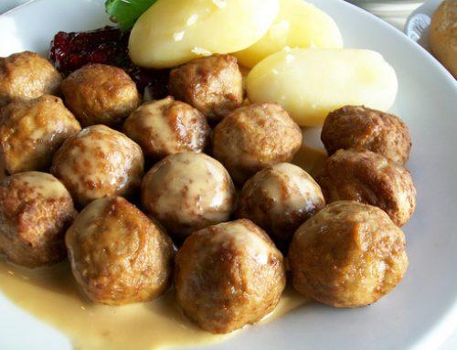 Typiska svenska maträtter
