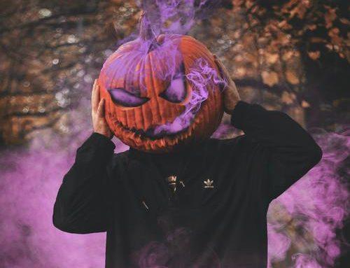 Godis till halloweenfesten
